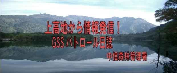 上高地から情報発信!GSSパトロール日誌
