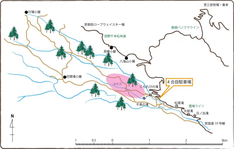 油木沢美林地図