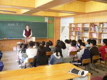 美宇小学校森林教室