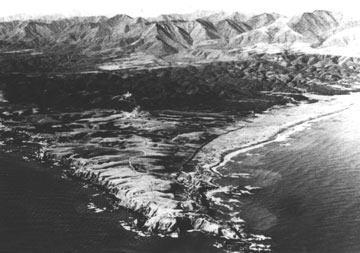 昭和28年の砂漠化したえりも岬