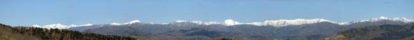 日高山脈パノラマ