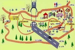 ブナ公園地図