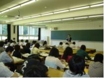 酪農大学での講義