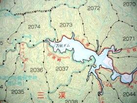 森林位置図