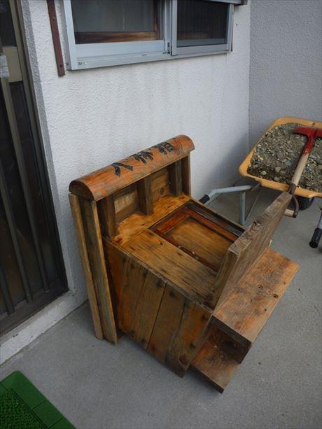 入林箱は羅臼森林事務所で冬眠