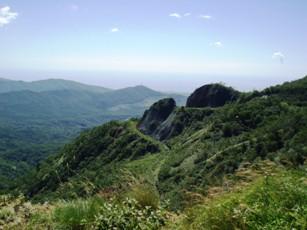 「オロフレ峠」からの景観