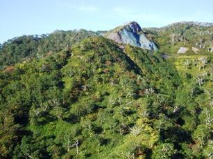 「オロフレ峠」付近の景観