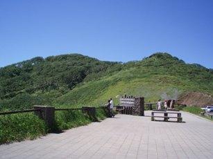 「オロフレ峠」の展望台