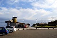 展望台(ハイランド小清水)と駐車場の写真