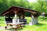 炊事棟(野営場)の写真