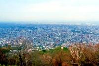展望台からの札幌市街風景の写真
