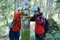 林尺体験その2