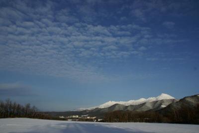 11月28日の知床連山