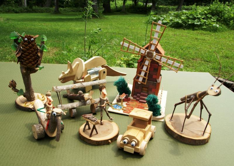 木工作品例