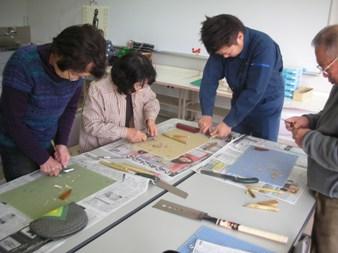 竹ペン作り