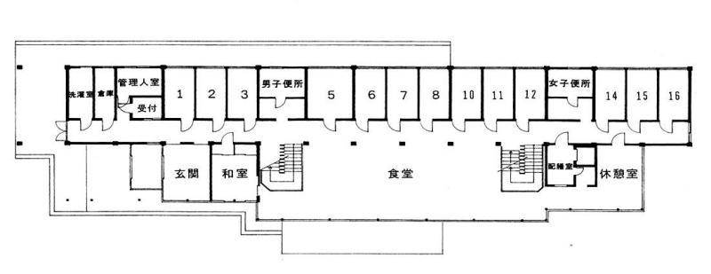 1F平面図