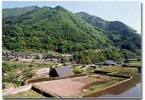 山村の風景