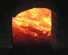 紀州備長炭炭窯