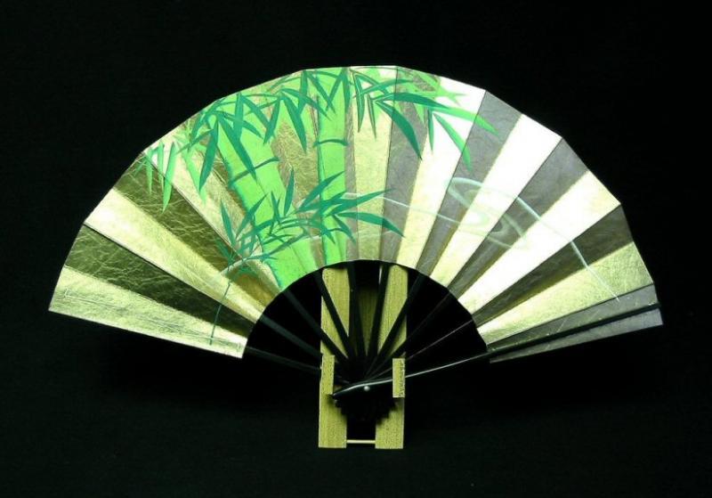 竹の伝統的な用途:京扇子