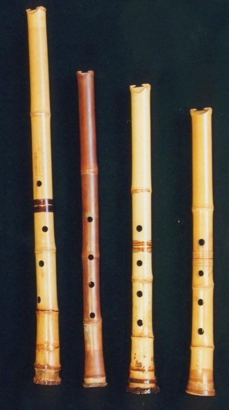 竹の伝統的な用途:尺八