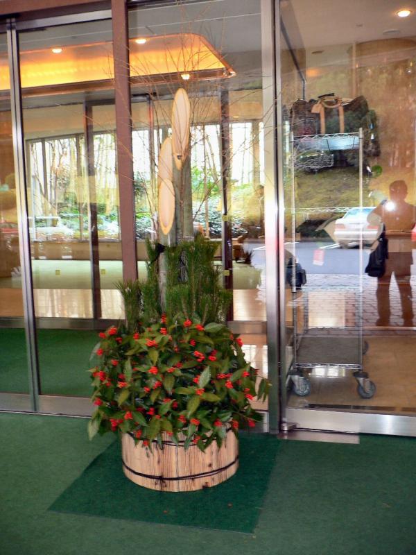 竹の伝統的な用途:門松