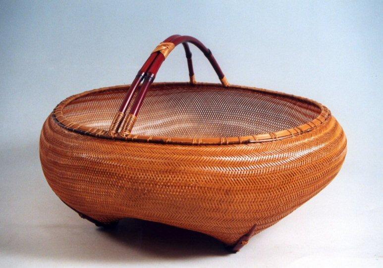 竹の伝統的な用途:別府竹細工