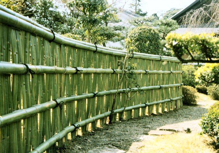 竹の伝統的な用途:大津垣