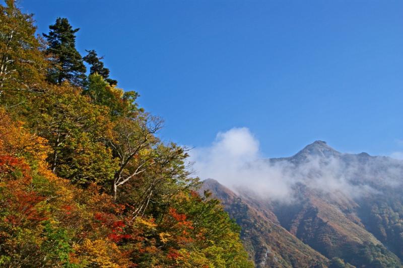 谷川岳周辺の山(白毛門)
