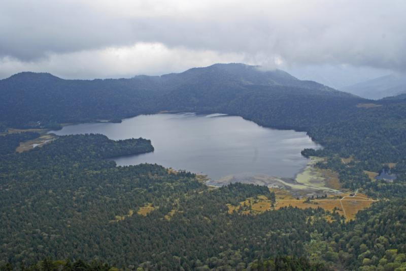 ミノブチ岳からの尾瀬沼全景