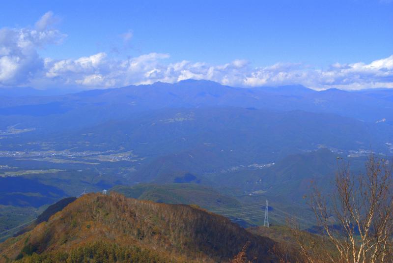 黒檜山頂から武尊山・至仏山方面