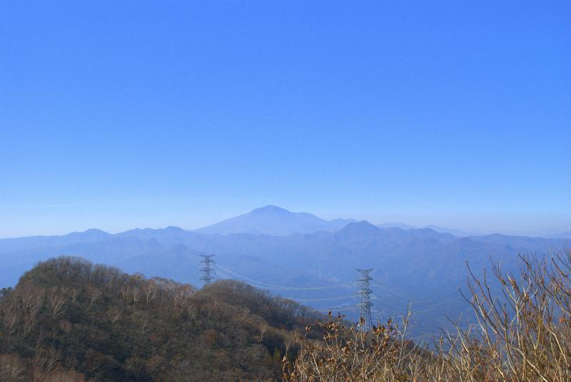 山頂から浅間山方面