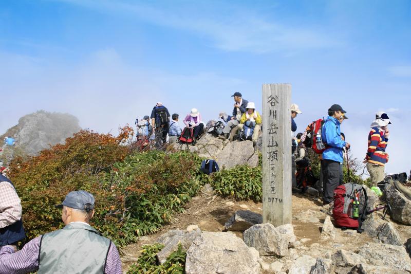 谷川岳山頂(オキの耳)