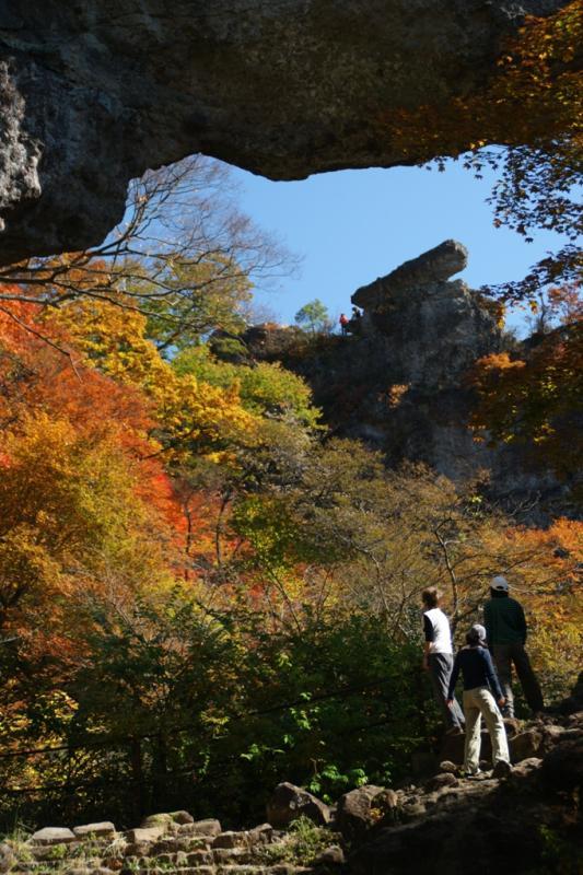 第四石門から大砲岩