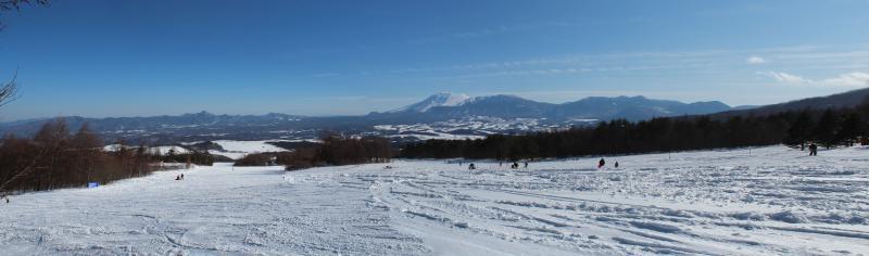 パルコール嬬恋スキー場からの遠望