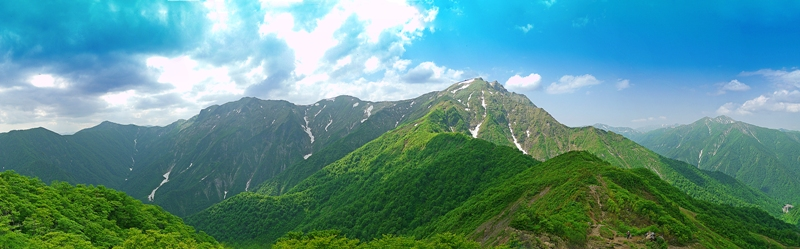 谷川岳連峰-6