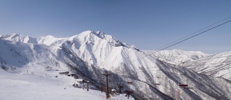 谷川岳:天神平スキー場