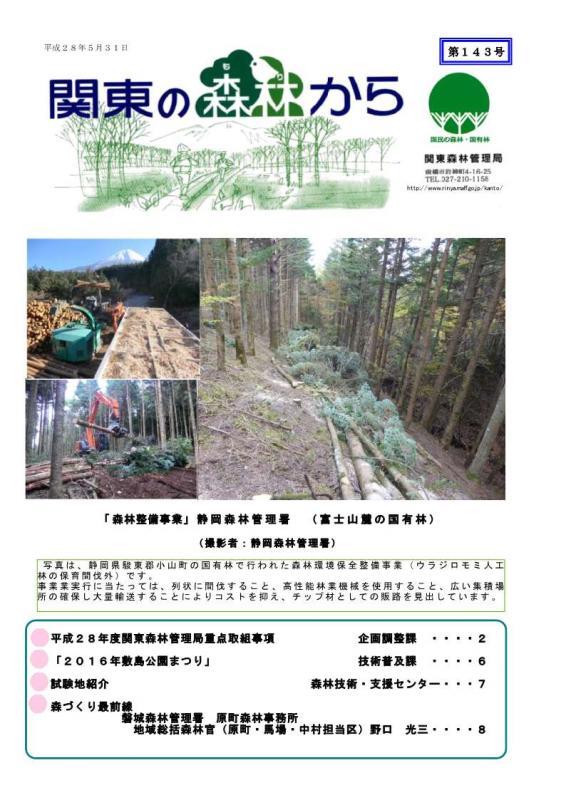 関東の森林から143号