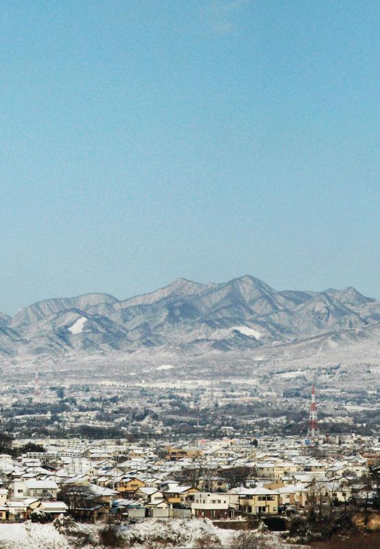 榛名山を望む2
