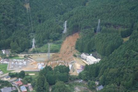 民有林の大規模崩壊