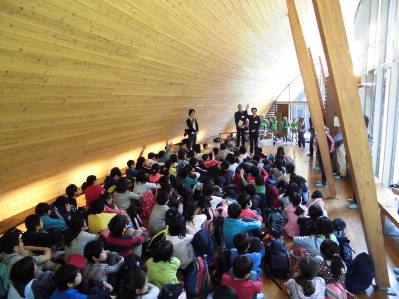 森林教室開校式挨拶