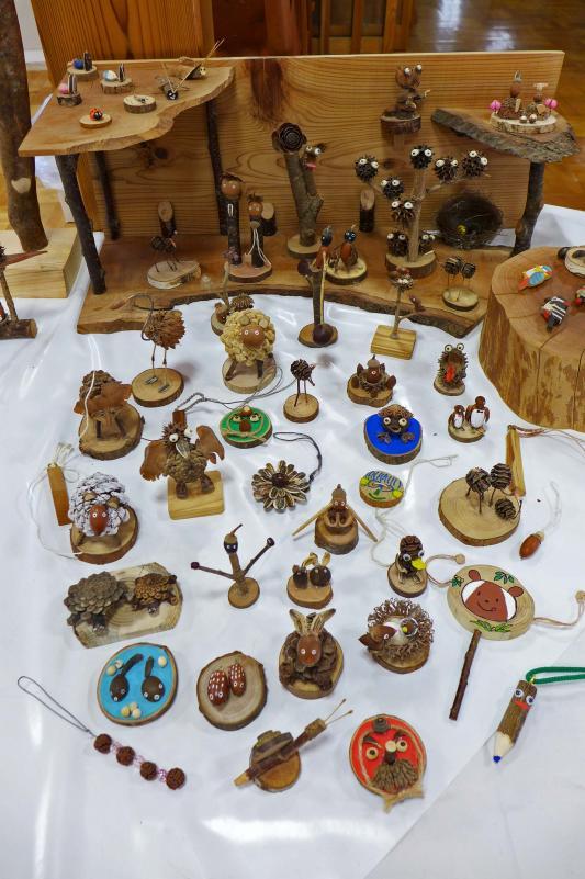 木工品見本