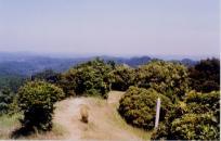 山頂付近からの眺望