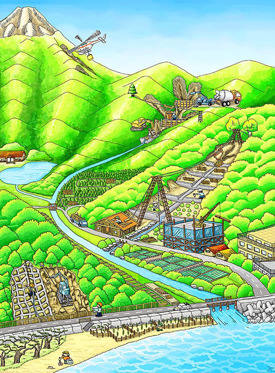 いろいろな治山工事:関東森林管...