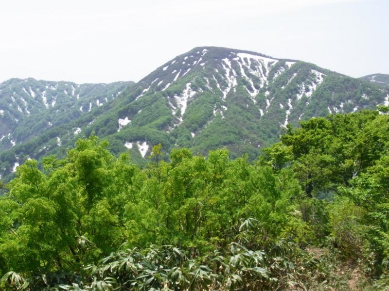 残雪の大日山