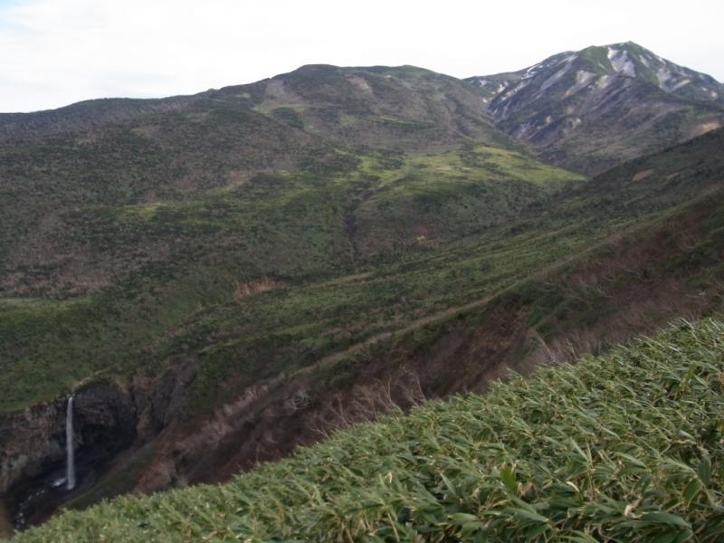 百四丈の滝と清浄ヶ原