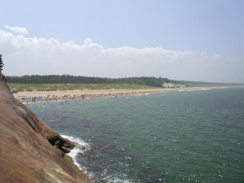 加賀海水浴場と加賀海岸