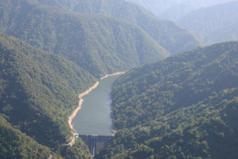 犀川ダムと犀川国有林1