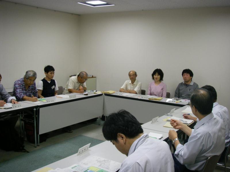 会議の様子 24年 第一回 奈良