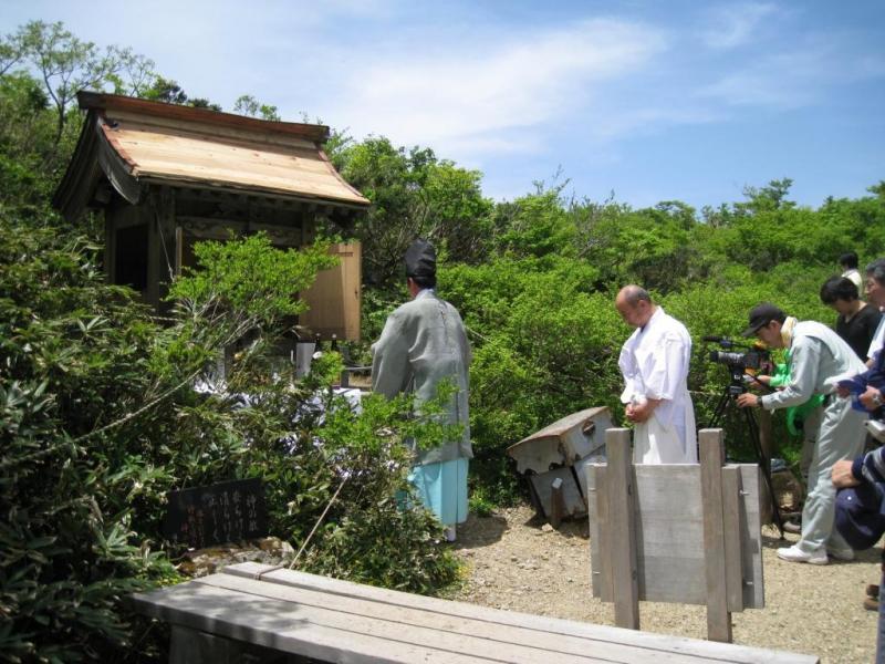 6月の山開き 多くの登山者が訪れる:岩谷国有林(南越前町)