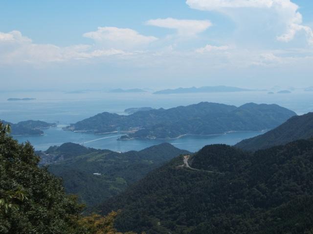 野呂山から瀬戸内海